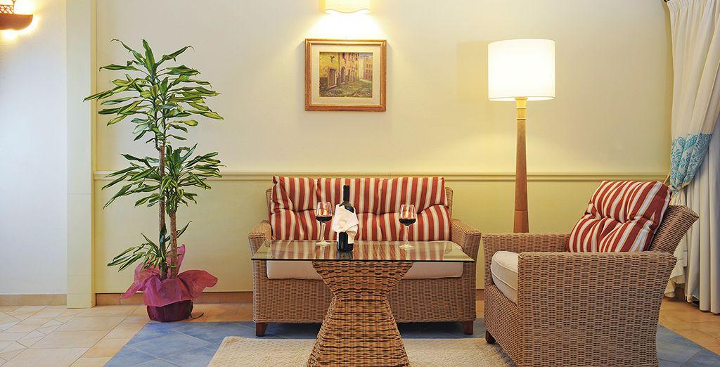El hotel ofrece a sus huéspedes el confort y servicios de alto nivel