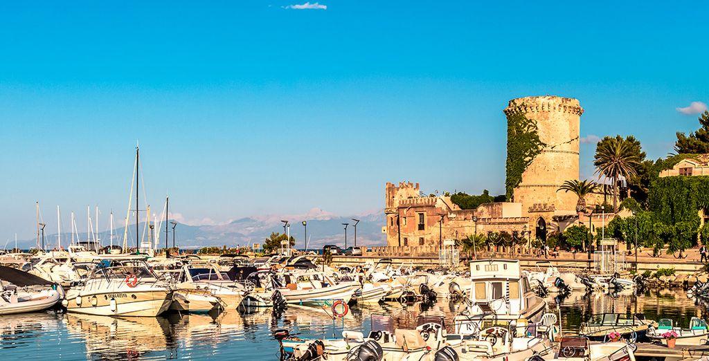 Una tarde encantadora en el Puerto de Palermo un día de verano