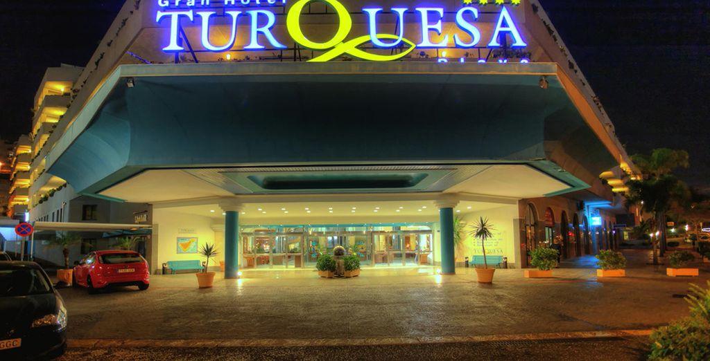 ...al Gran Hotel Turquesa Playa