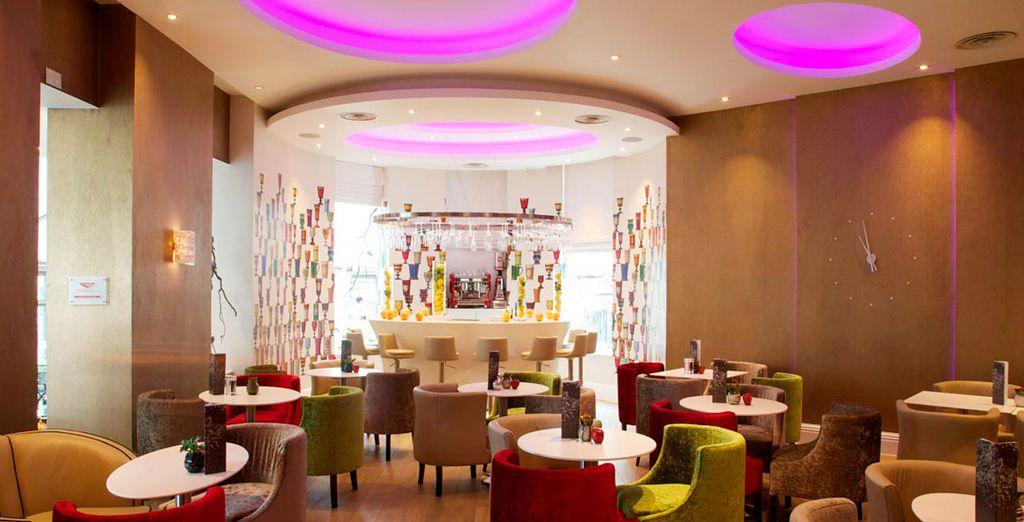 El Xenia Lounge es el lugar ideal en cualquier momento del día