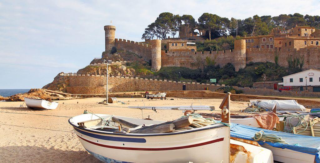 El castillo de Lloret...otra visita que no se puede perder