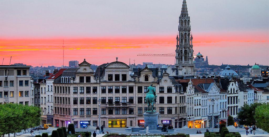 Disfrute de un hotel de 4 estrellas en el corazón de Bruselas