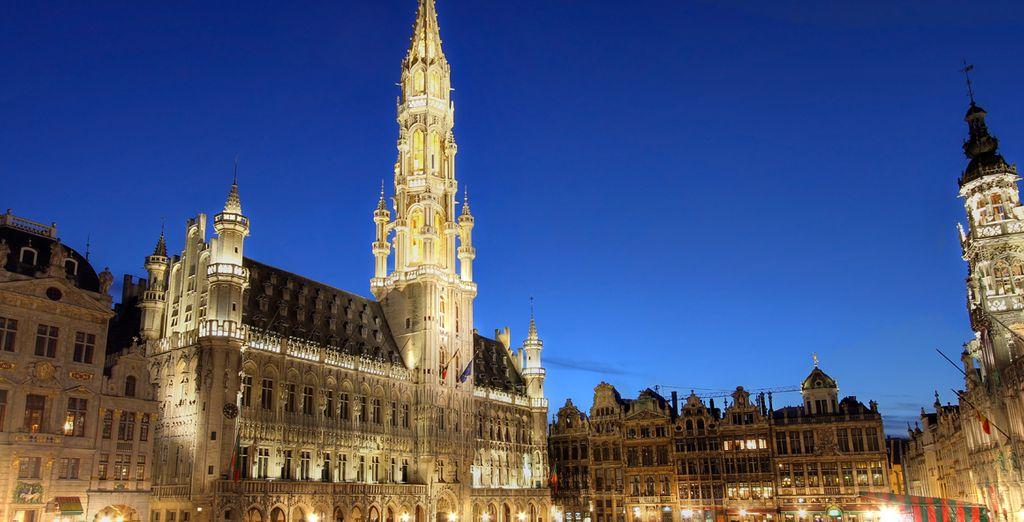 Visite el Ayuntamiento de Bruselas