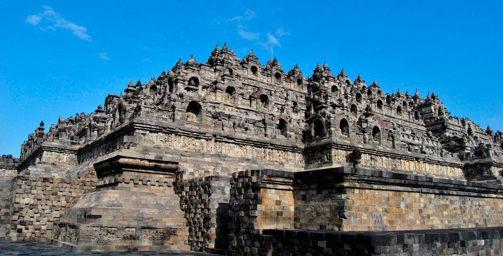 Los increíbles monumentos de Borobudur