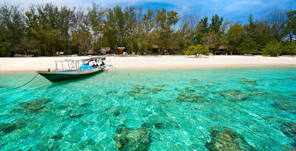 Las impresionantes playas de Bali
