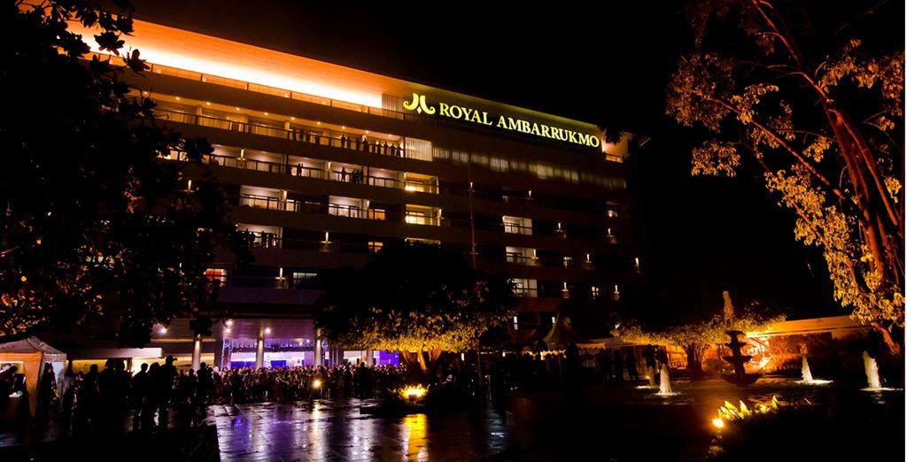 Bienvenido al Hotel Ambarukmo 5*, Yogyakarta