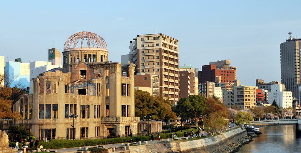 En su cuarto día podrán elegir una visita a Hiroshima opcional