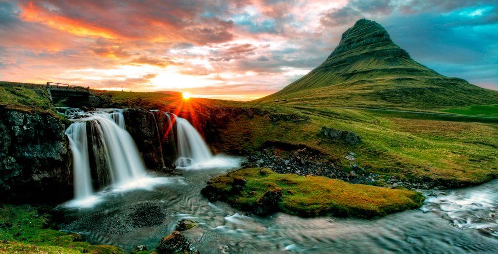 Disfrute de los paisajes más bellos que pueda imaginar