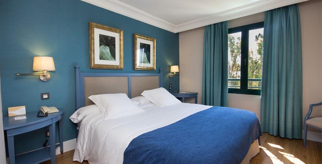 Descanse en su Suite de 1 dormitorio, estancias amplias que garantizan su confort