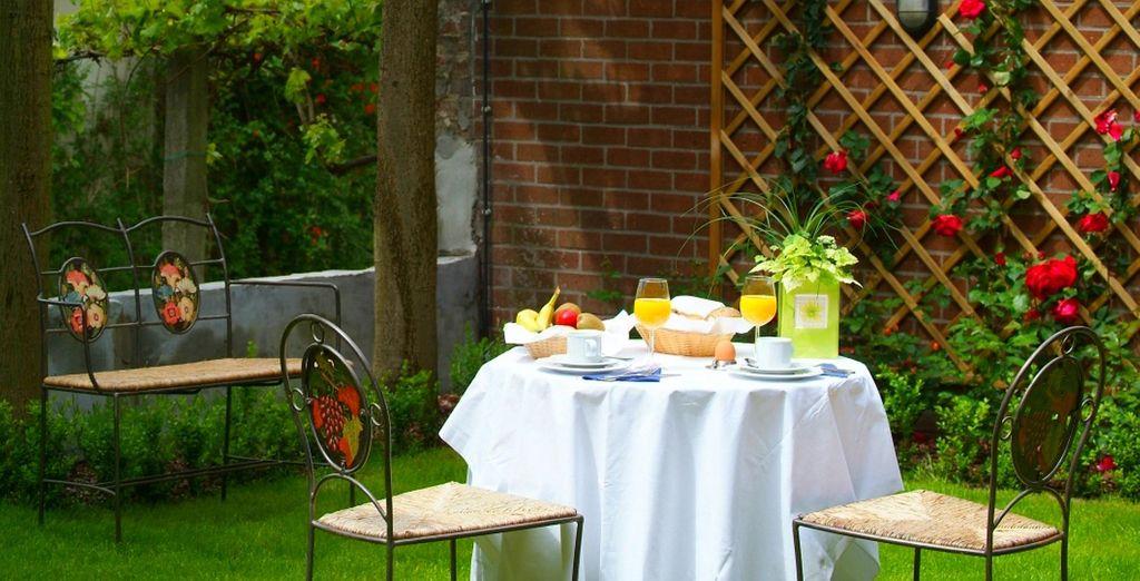 Disfrute de un agradable desayuno para empezar bien su día