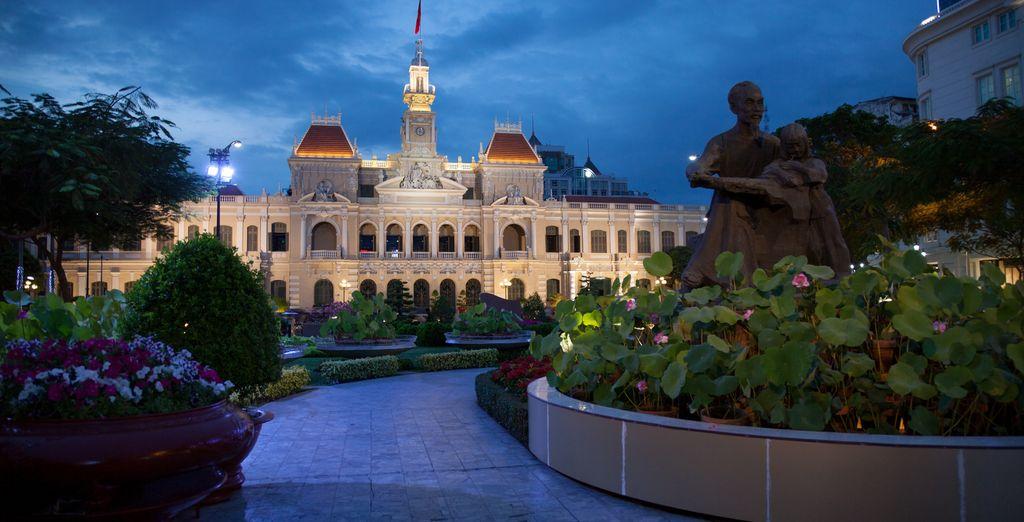 La antigua Saigon es la mayor metrópoli del país