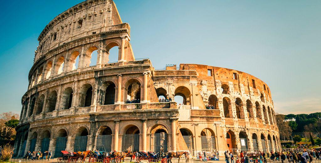 No deje pasar la oportunidad de visitar El Coliseo