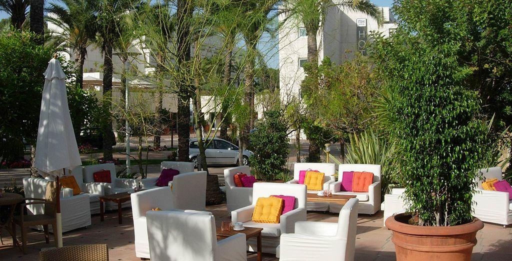 Tómese un aperitivo bajo el sol de Marbella