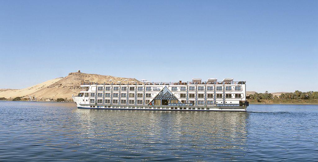 Todo su recorrido por el Nilo lo realizará a bordo del crucero M/S Princess Sarah