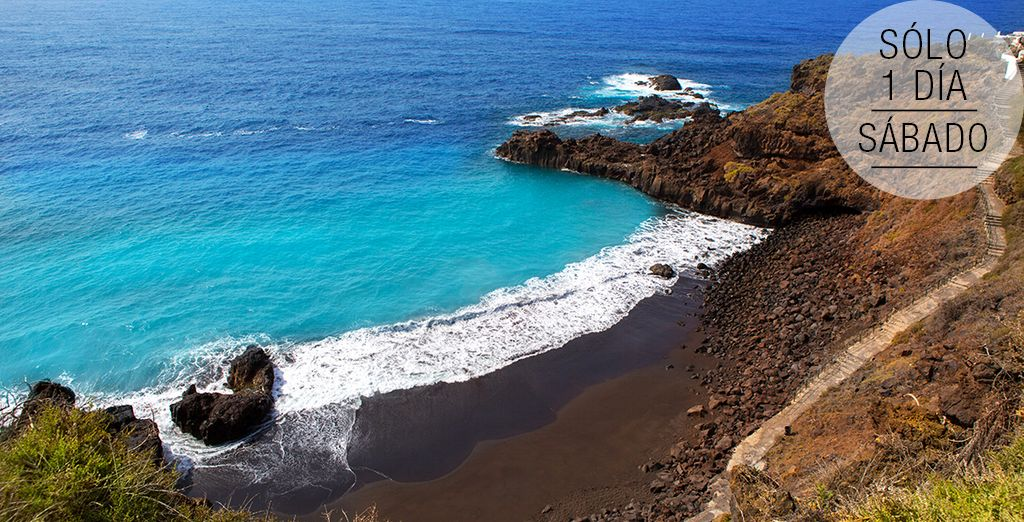 La Playa del Bollullo, una de las favoritas de la isla de Tenerife