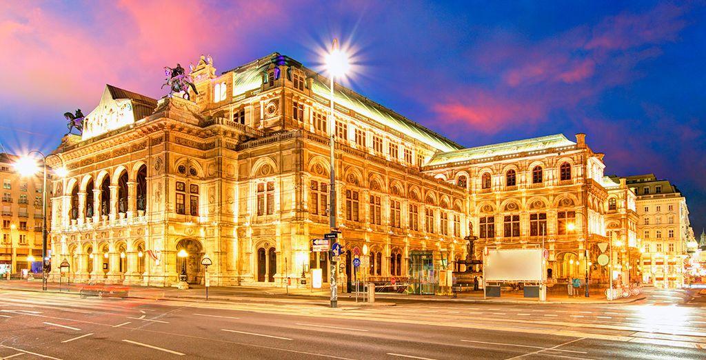 La Ópera de Viena, un monumento a la música