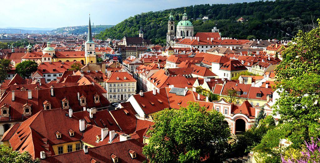Su primera parada será en la ciudad de Praga
