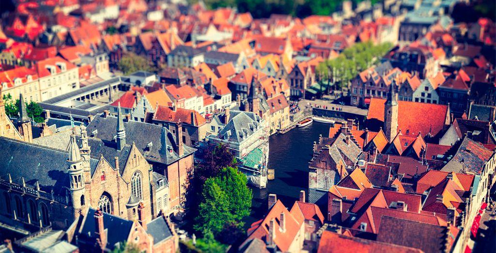Visite Brujas, desde el año 2000, Patrimonio de la Humanidad por la UNESCO