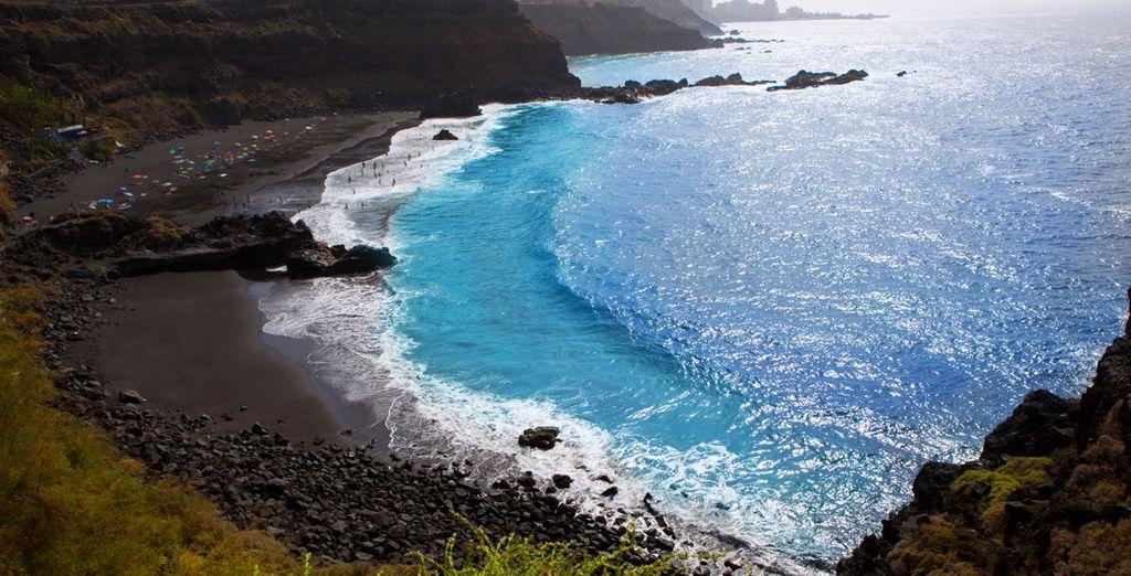 En Tenerife encontrará asombrosos paisajes volcánicos