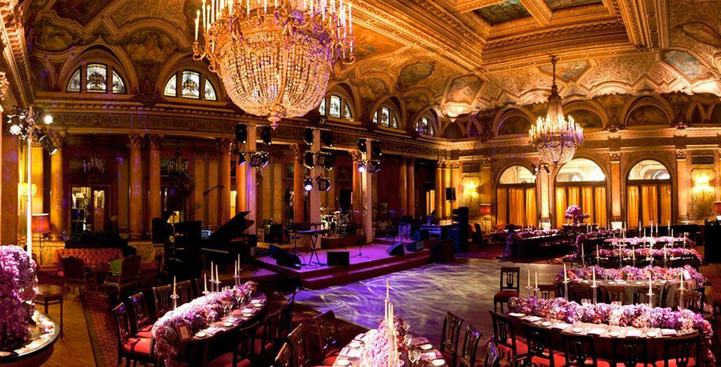 Impresionante y lujoso diseño interior