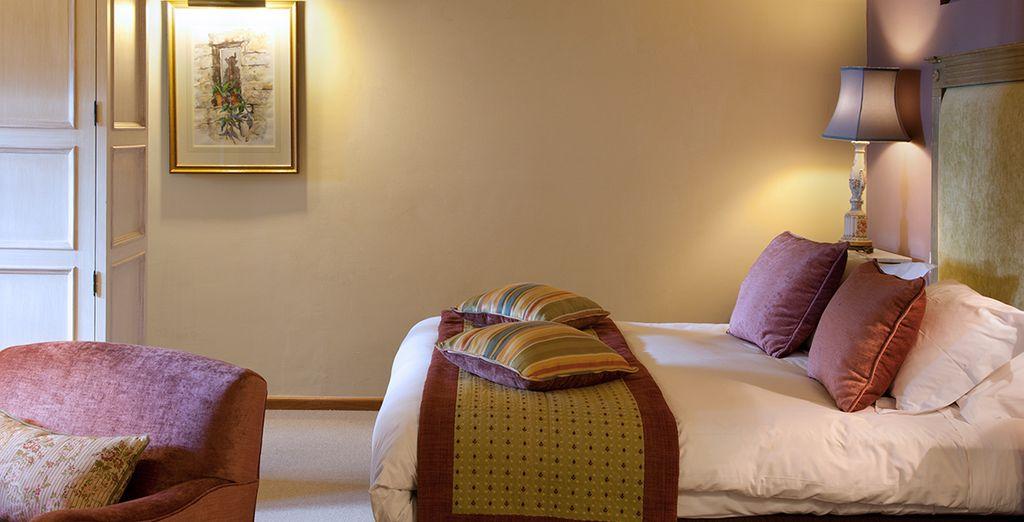 Habitaciones decoradas con las mejores telas