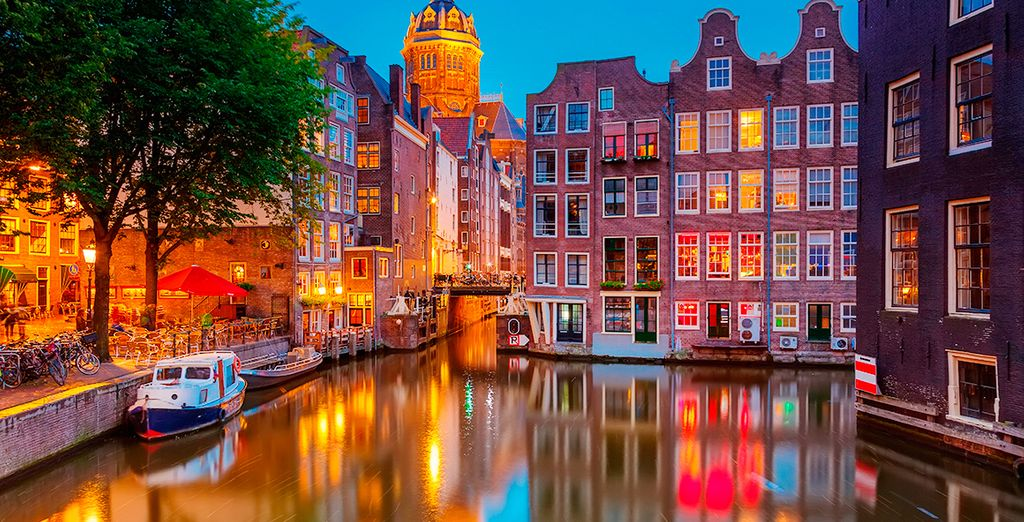 Una escapada excepcional en Ámsterdam