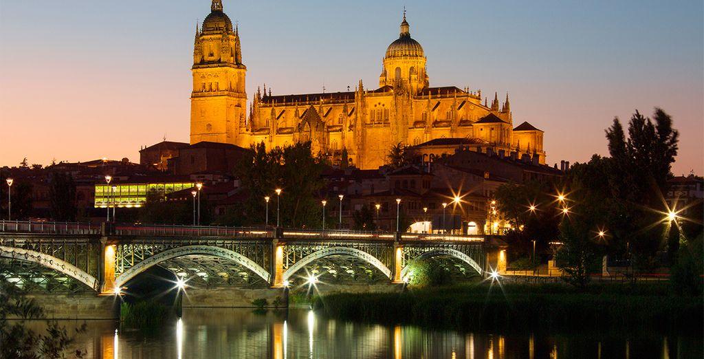 Bienvenido a Salamanca, ciudad Patrimonio de la Humanidad