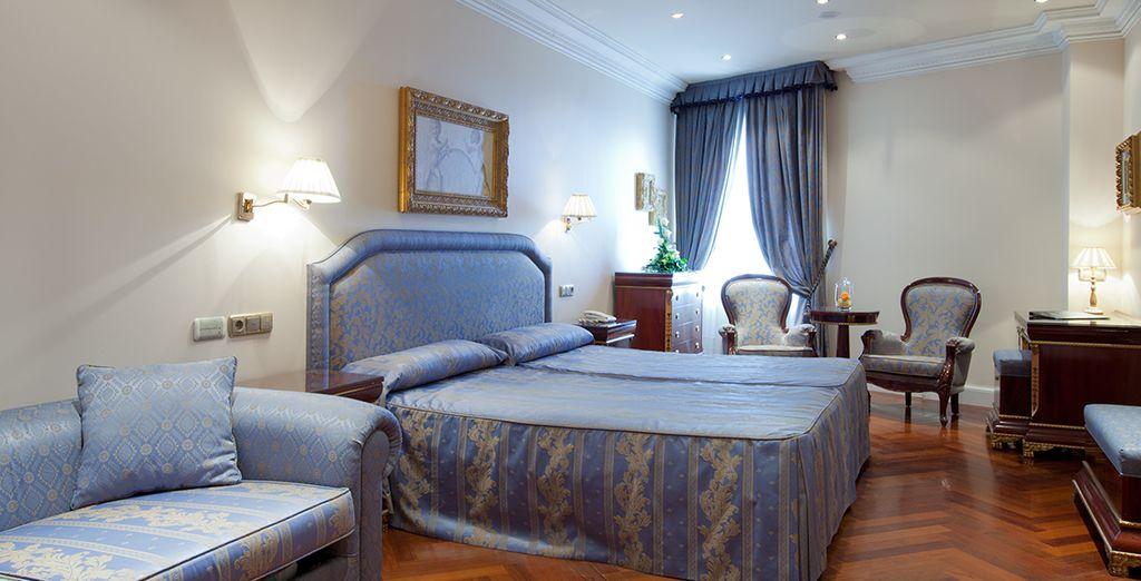 La decoración más exquisita se encuentran en este hotel y en sus estancias