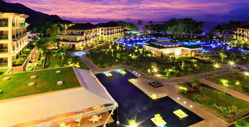 Un elegante hotel en las Seychelles