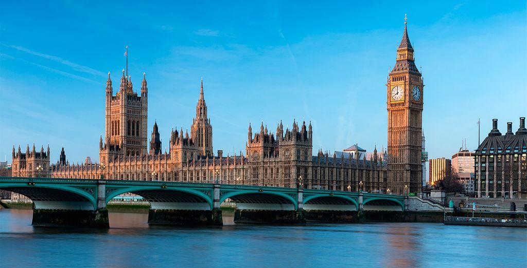 Alójese en el centro de Londres, muy cerca de London Bridge