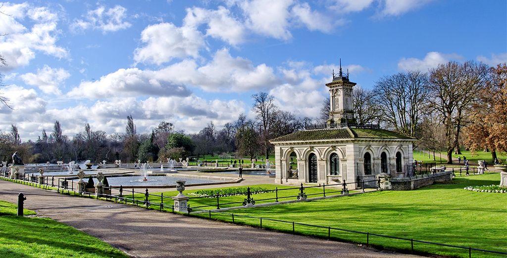 Arbor Hyde Park se encuentra muy cerca del conocido parque
