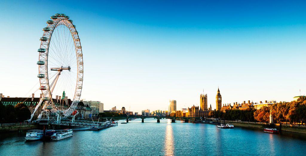 Venga a descubrir la noria más famosa del Reino Unido