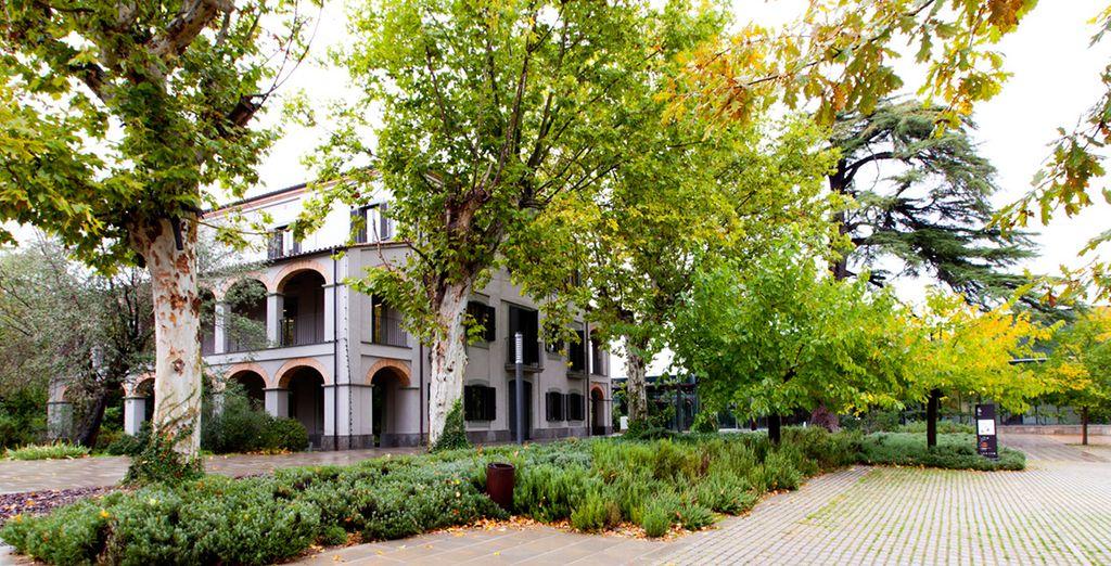 Una antigua casa modernista que todavía respira ambiente artístico