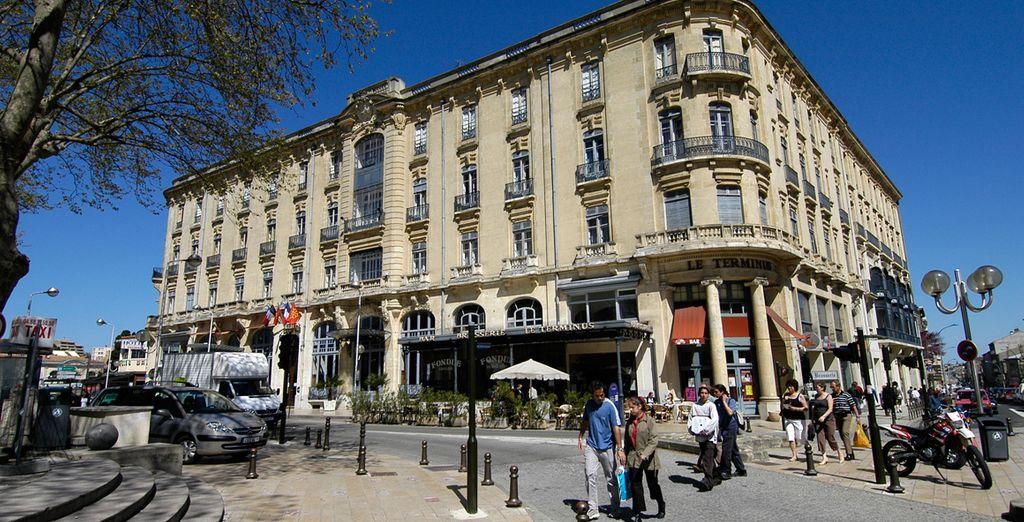 Hotel du Soleil Le Terminus 4* Carcassonne