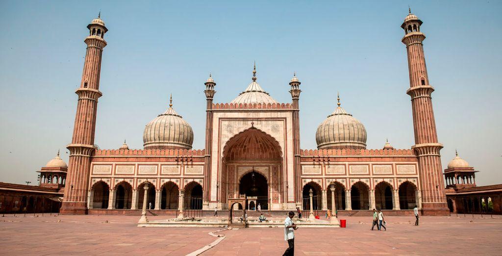 Jamma Masjid, la mezquita más grande de la India