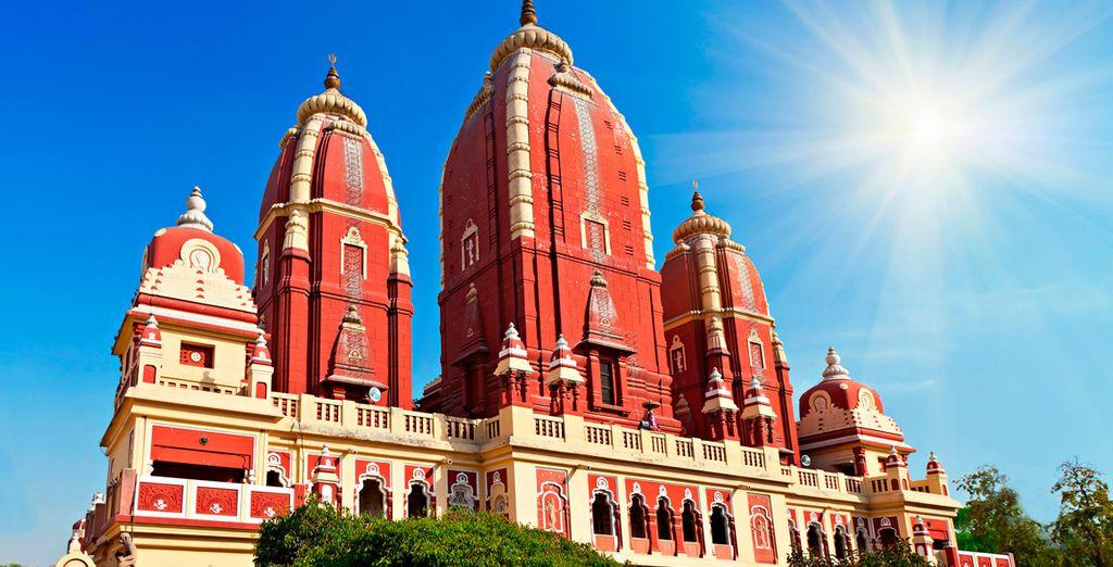 El Raj Ghat, hermoso parque...