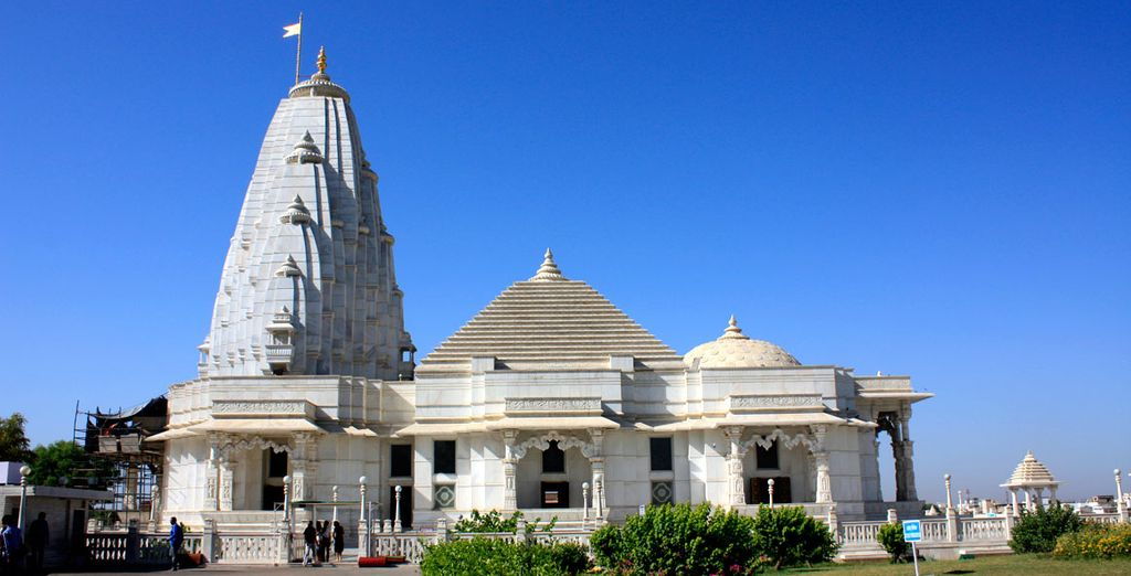 Visitará el templo Birla de la religión Hindú...