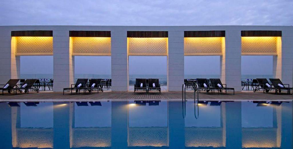 En Agra se aloajará en el hotel Four Points by Sheraton Agra 4*