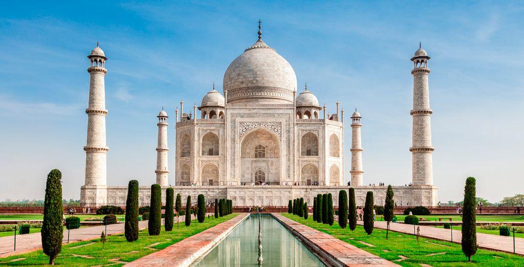 Visita indispensable: el impresionante Taj Mahal, Agra