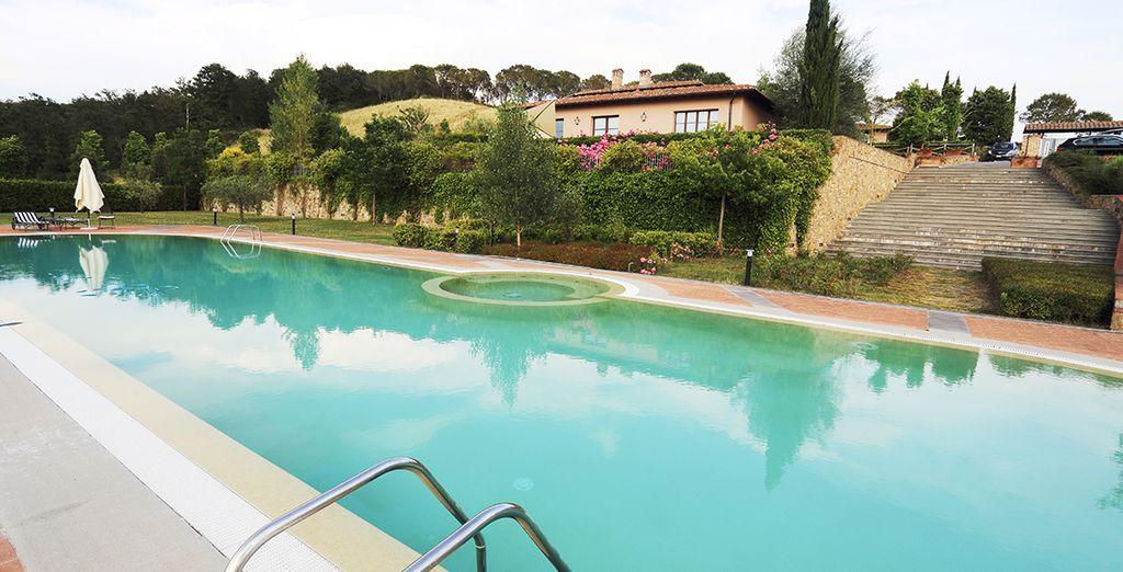 Dese un baño en este pequeño paraíso cerca de Florencia