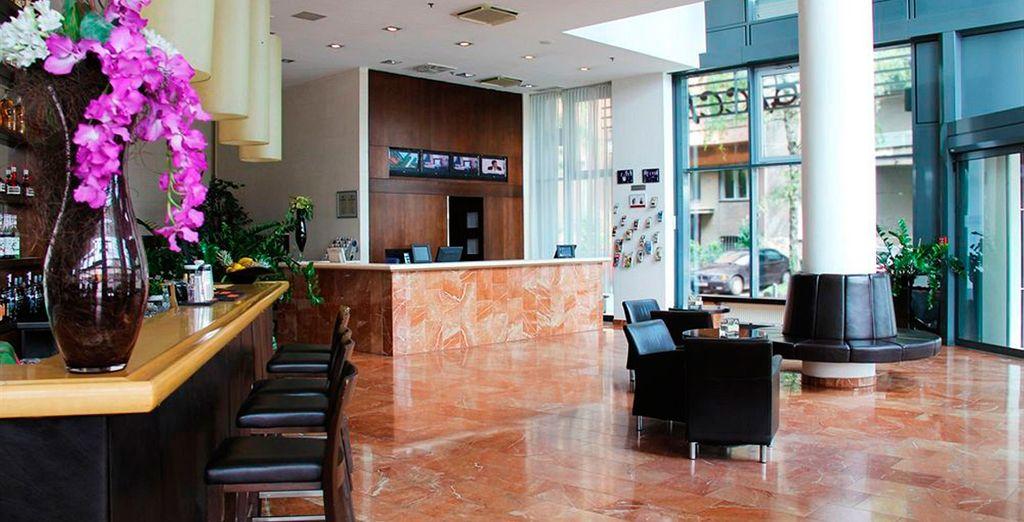 Durante su estancia en Zagreb se alojará en el hotel Arcotel Allegra 4*