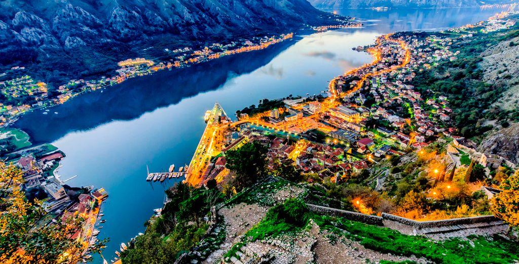 El séptimo dia se dirigirá  hacia la maravillosa ciudad de Kotor en la República de Montenegro
