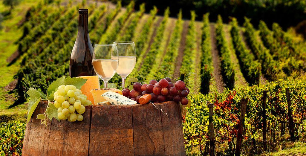 Sienta todo el sabor de la Toscana
