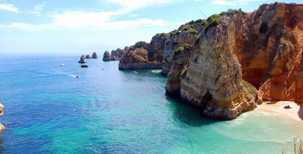 Venga a descubrir Algarve