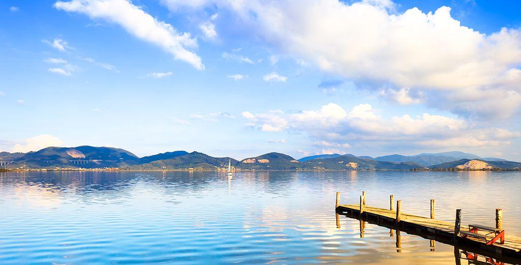 ... y sumérjase en sus increibles paisajes