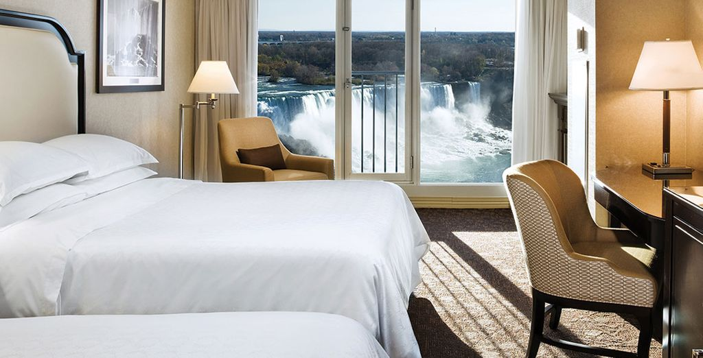 En Niágara se alojará en el Sheraton at the Falls 4*