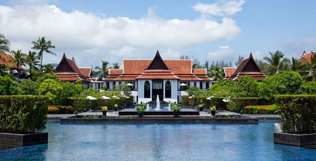 Un hotel en un enclave privilegiado