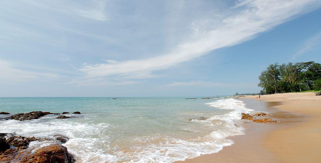 Disfrute de playas paradisíacas