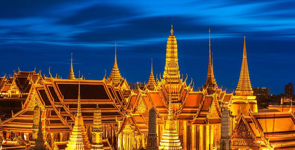 Descubra en Bangkok algunos de los más hermosos templos