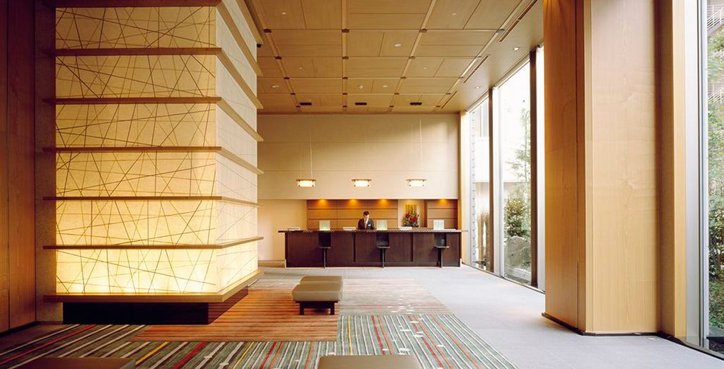 En Tokio se alojará en el Hotel Niwa Tokio 4*